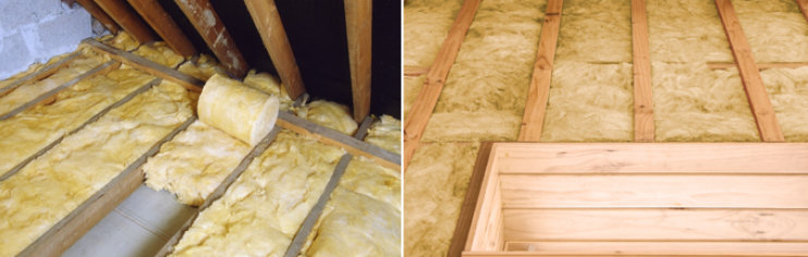 Loft insulation insulation lawsons for Wool insulation cost