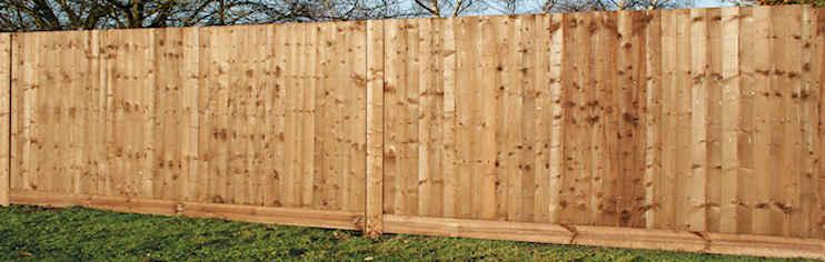 Closeboard fencing system supplies lawsons