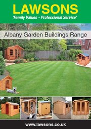 Lawsons Garden Buildings Brochure