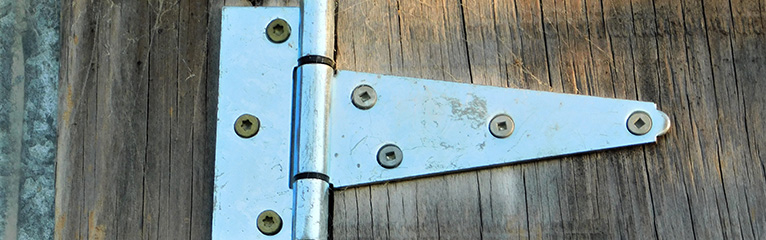 How to Fit Hinges, Bolts and Latches to Your Gates and Doors.