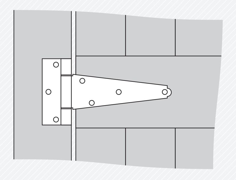 Tee Hinge Diagram 1