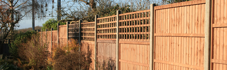 Lawsons How to Install a Garden Fence Using Fence Panels