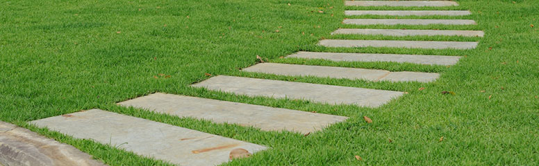 Make a Traditional Stepping Stone Path