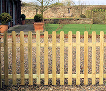 Picket Fence Panels