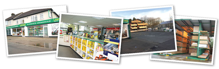 Romford Builders Merchants Essex Lawsons