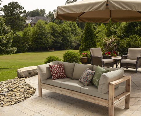 Make Your Own Furniture Out Of Timber, How To Make A Garden Furniture