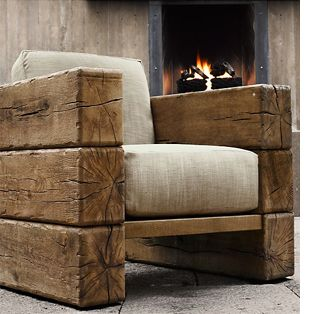 Railway Sleeper Armchair