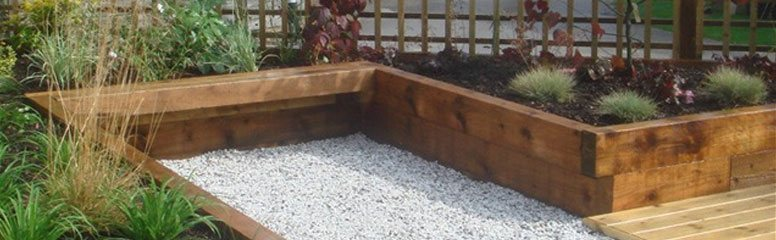How To Lay Railway Sleepers In The Garden