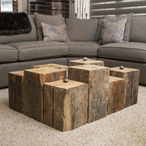 how to make furniture from railway sleepers | home improvement