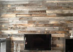 Timber Plank Wall