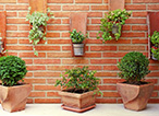 3 Brick Garden Wall Ideas