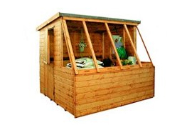 Corner/Potting Sheds