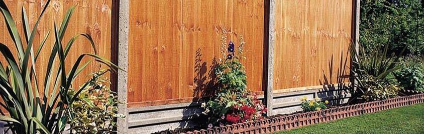 Fence Gravel Boards