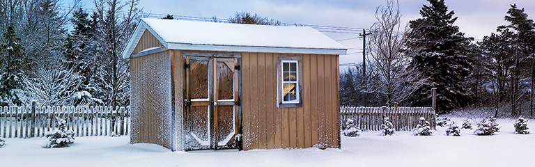 How to Prepare Your Shed for Winter
