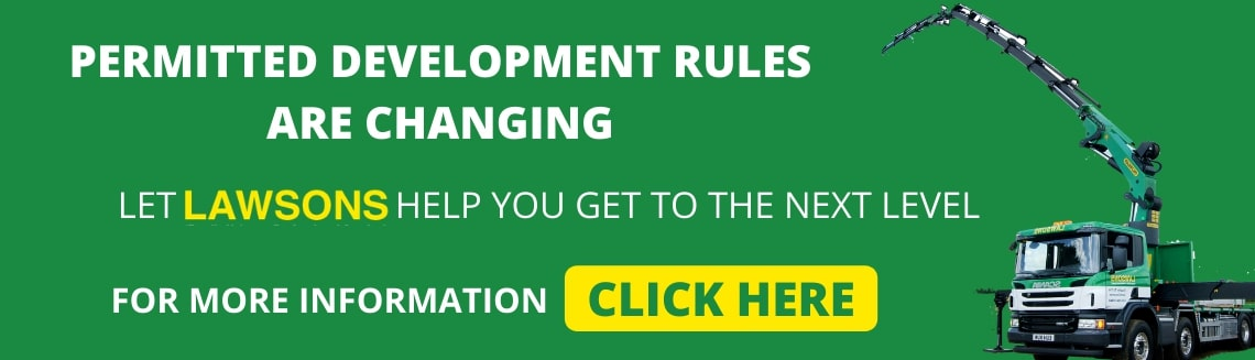 Permitted Development Rules are Changing