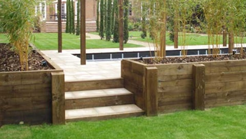 Buy Garden Railway Sleepers