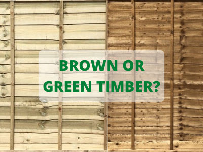 What's the Difference Between Green and Brown Timber