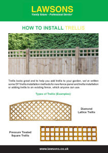 How to Install Trellis?