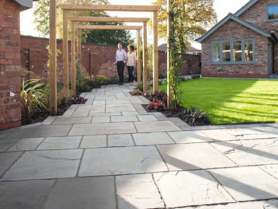 Patio Ideas Using Natural Stone