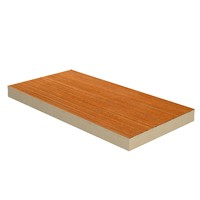 XtraTherm 1200mm x 2400mm x 116mm PlyDeck is a composite insulation board intended for forming warm flat roof decks which will be finished with partially bonded built-up felt waterproofing systems.