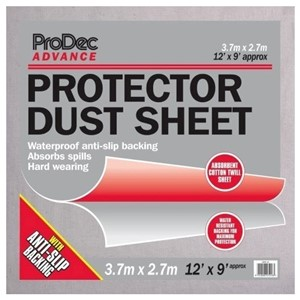 Rodo 12' x 9' Lined Protector Dust Sheet