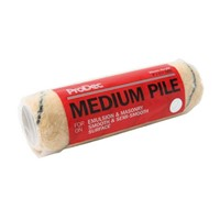 "Prodec 9"" (225mm) x 1.75"" Tiger medium pile woven refill. Trade quality refill, with medium pile woven fabric for greater durability, pick up and release. Ideal for smooth & semi rough surfaces."