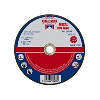 Faithfull 230mm Metal Cutting Disc Flat FAI2303M