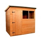 2.4x1.8M Suffolk Pent Shed 806