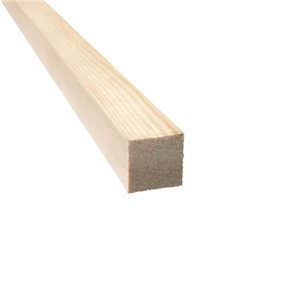Lawsons 25 x 25mm Softwood PAR timber is of top-quality and ideal for a varnished, painted or stained finish. Being a constant size makes it ideal for joinery projects where a perfect finish is required and because it has been slow grown it is less likely to twist or distort.