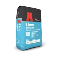 Hanson Hydrated Lime is for use in Cement: Sand, Lime mortars.  Offers excellent workability and good water retention.