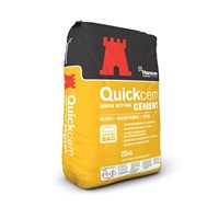 Hanson Quickcem is an ideal cement for repair and maintenance applications where the increased rate of set and strength development are beneficial in both mortar and concrete, allowing normal services to be brought back into operation after only a few hours.