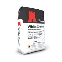Hanson White Portland Cement 25kg Bag