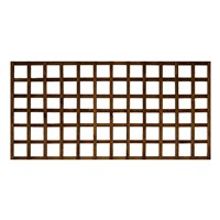 1828x915mm (3') Brown Pressure Treated Heavy Duty Square Trellis