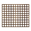 1828x1524mm (5') Brown Pressure Treated Heavy Duty Square Trellis