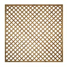6'x 6' High Flat Top Lattice Trellis