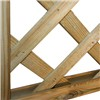 1828x454mm Diamond Lattice Trellis