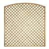Lattice trellis is constructed from treated planed all round timber arranged in a diamond shape. The panel's 35mm framework and 25mm battens are arranged to create a diamond affect with 70mm spaces.