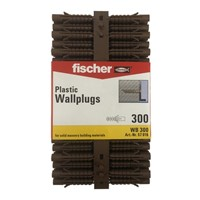 Fischer Brown Plug Pack Of 300 WB300 (94788)