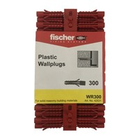 Fischer Red Plug Pack Of 300 WR300 (42531)