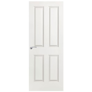 6623 1/2HR F/C Smooth 4 Panel 30316 Int 44mm 686x1981mm Door