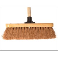 "Faithfull 12"" Coco Broom Complete With Handle FAIBRCOCO12H"