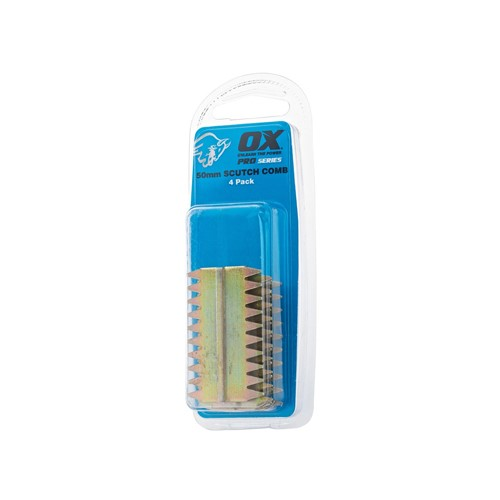 4pk Scutch Combs