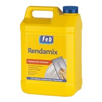 5ltr Rendamix Waterproofer & Retarder Feb