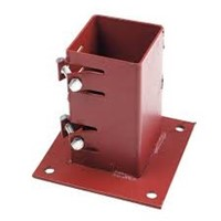 Metpost Bolt Down Base 75x75mm System 2