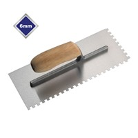 6mm Professional Notched Trowel