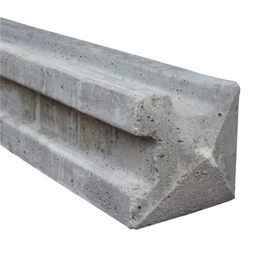 Supreme Concrete's Strongcast Slotted Concrete Posts are manufactured from high strength concrete, reinforced for ultimate durability and long life. They are easy to install, cost-effective, and unaffected by moisture and rot giving years of service. The 7ft long (2.135m) corner post has a section size of 125mm x 125mm and weighs approximately 67kgs.