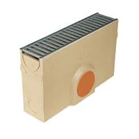 ACO RainDrain Sump Unit if manufactured from polymer concrete giving it a light, strong construction. The unit comes complete with a galvanised A15 rated grating and a sediment bucket.