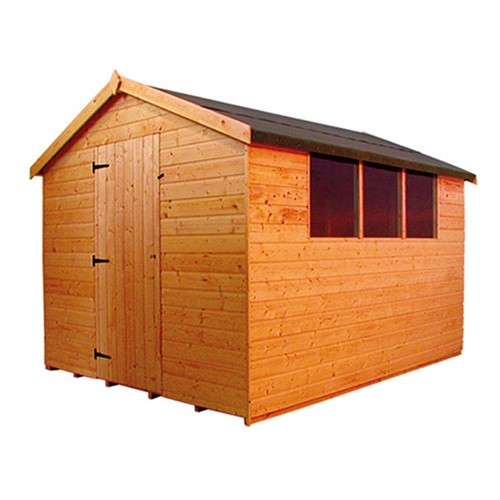 3 0 X 1 8m Norfolk Apex Shed 1006 Lawsons Lawsons