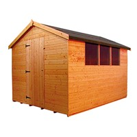 3.0x2.4M Norfolk Apex Shed 1008