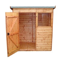 1.8x1.2M Suffolk Pent Shed 604